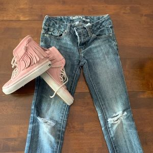 Girls DKNY jeans